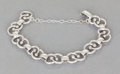 Silver Smalls:Other , A HÉCTOR AGUILAR MEXICAN SILVER BRACELET. Héctor Aguilar, Taxco,Mexico, circa 1948-1962. Marks: HA (conjoined),TAXCO...