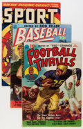 Golden Age (1938-1955):Miscellaneous, Golden Age Sports Related Comics Group (Various Publishers, 1950s) Condition: Average VG/FN.... (Total: 6 Comic Books)