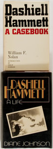 Books:Biography & Memoir, [Dashiell Hammett]. Two Biographies about Dashiell Hammett. Variouspublishers, [1969, 1983]. Original cloth bindings and du... (Total:2 Items)