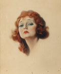 Pin-up and Glamour Art, EHLER DAHL (American, 20th Century). Beauty Icon, Beautymagazine cover, circa 1920s/30s. Watercolor and pencil onboard... (Total: 2 Items)
