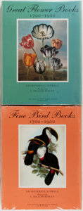 Books:Natural History Books & Prints, Sacheverell Sitwell. Great Flower Books and Fine Bird Books. New York: Atlantic Monthly Press, [1990]. First... (Total: 2 Items)