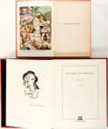 Books:Art & Architecture, [Thomas Rowlandson]. Two Books about Thomas Rowlandson. Various publishers and dates. Both are first printings. One is a two... (Total: 3 Items)