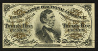 Fr. 1295 25¢ Third Issue About New