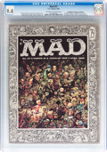Magazines:Mad, Mad #27 Don/Maggie Thompson Collection pedigree (EC, 1956) CGC NM9.4 Off-white to white pages....