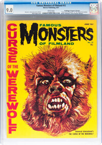 Famous Monsters of Filmland #12 Don/Maggie Thompson Collection pedigree (Warren, 1961) CGC VF/NM 9.0 White pages