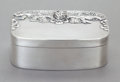 Silver Holloware, American:Boxes, A CHARLES SELVAGE SILVER COVERED BOX . Charles Selvage,Massachusetts, mid-20th century. Marks: Selvage, HANDWROUGHT,STER...