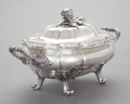 Silver Holloware, American:Entrée Dishes, A COOPER & FISHER COIN SILVER COVERED TUREEN . Cooper &Fisher, New York, New York, circa 1860. Marks: COOPER &FISHER, 13...