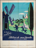 """Movie Posters:Foreign, Letters from My Windmill (Gaumont, 1954). French Grande (47"""" X 63""""). Foreign.. ..."""