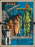 "Movie Posters:Comedy, The Sleepwalker (La Société des Films Sirius, 1951). French Affiche (23.5"" X 31.5""). Comedy.. ..."