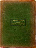 Books:Literature Pre-1900, Ralph Waldo Emerson. The Essay on Friendship. East Aurora,New York: Roycrofters, 1899. Publisher's suede binding. D...