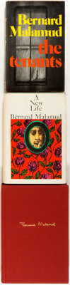 Bernard Malamud. Group of Three First Editions. Includes A New Life (third printing, 1961)