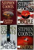 Books:Mystery & Detective Fiction, Stephen Coonts. SIGNED. Group of Four First Editions. New York: St.Martin's Press, 1992-2009. First editions. Signed by the... (Total:4 Items)