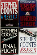 Books:Mystery & Detective Fiction, Stephen Coonts. Group of Four First Editions. Various publishers,1988-2008. First editions. Publisher's bindings in origina...(Total: 4 Items)