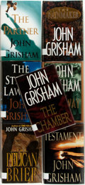 Books:Mystery & Detective Fiction, John Grisham. Group of Seven First Editions. New York: Doubleday,1992-1999. Publisher's bindings in dust jackets. Fine cond...(Total: 7 Items)