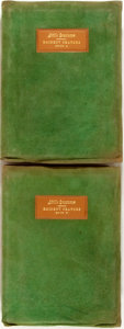 Books:Periodicals, Elbert Hubbard. Little Journeys to the Homes of Eminent Orators,Books I and II. Includes volumes XII and XIII....(Total: 2 Items)