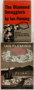 Books:Travels & Voyages, Ian Fleming. Pair of Books, Including The Diamond Smugglersand Thrilling Cities. London: Jonathan Cape,... (Total: 2Items)