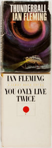 Books:Mystery & Detective Fiction, [James Bond]. Ian Fleming. Two First American Editions. IncludesThunderball. New York: Viking Press, 1961. [and... (Total: 2Items)