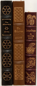 Books:Literature 1900-up, [Sir Walter Scott, John Irving]. Group of Three Books Published byThe Easton Press. Various dates. Publisher's full leather...(Total: 3 Items)
