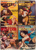 Pulps:Western, Leading Western and Others Group (Trojan Publishing, 1949-50) Condition: Average VG.... (Total: 9 Comic Books)