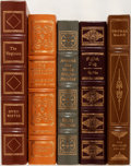 Books:Literature 1900-up, [Thomas Mann, John Le Carré, John Updike, Owen Wister, HarryPidgeon]. Five Books Published by The Franklin Library andEaston... (Total: 5 Items)