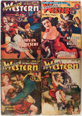 Pulps:Western, Fighting Western Group (Trojan Publishing, 1948-50) Condition: Average VG.... (Total: 10 Comic Books)