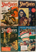 Pulps:Anthology, Short Stories Group (Short Stories Inc., 1941-51) Condition:Average VG.... (Total: 10 Comic Books)