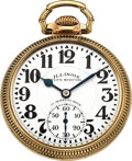 Timepieces:Pocket (post 1900), Illinois 23 Jewel 60 Hour Bunn Special, Circa 1929. ...
