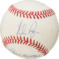Baseball Collectibles:Balls, 300 Win Club Multi Signed Baseball (8 Signatures)....