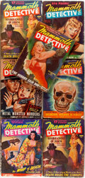 Books:Mystery & Detective Fiction, [Pulps]. Seven Issues of Mammoth Detective. Chicago: Ziff-Davis, [1943-1945]. Original printed wrappers. Very good o... (Total: 7 Items)