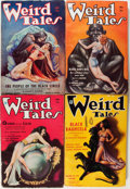 Pulps:Horror, Weird Tales Group (Popular Fiction, 1934-37) Condition: AverageVG.... (Total: 23 Comic Books)