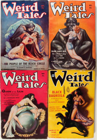 Weird Tales Group (Popular Fiction, 1934-37) Condition: Average VG.... (Total: 23 Comic Books)