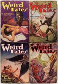 Pulps:Horror, Weird Tales Group (Popular Fiction, 1934-37) Condition: AverageGD/VG.... (Total: 9 Comic Books)