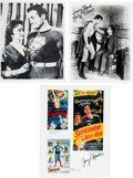 Memorabilia:Movie-Related, Superman Movie and Television-Related Autographed Group(undated).... (Total: 3 Items)