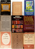 Books:Books about Books, [Books about Books]. Group of Nine Titles about Book Collecting. Includes selections by Orcutt, Ahearn, Winterich, et al. Va... (Total: 9 Items)