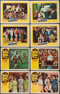 "Movie Posters:Sports, The Rose Bowl Story & Others Lot (Monogram, 1952). Lobby Cards (15) (11"" X 14""). Sports.. ... (Total: 15 Items)"