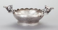 Other:American, AN F.B. ROGERS SILVER-PLATED FIGURAL BOWL . F.B. Rogers SilverCompany, Taunton, Massachusetts, circa 1900. Marks: F.B.RO...