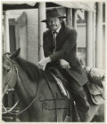 "Movie/TV Memorabilia:Autographs and Signed Items, Charles Bronson ""From Noon Till Three"" Signed Photo. A b&w 8"" x10"" photo of Bronson in the 1976 Western, signed by him in b...(Total: 1 Item)"