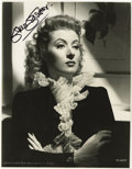 "Movie/TV Memorabilia:Autographs and Signed Items, Greer Garson Signed Photo. A stunning b&w 8"" x 10"" photo of theAcademy Award-winning actress, signed by her in black felt...(Total: 1 Item)"