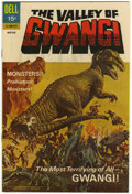 Silver Age (1956-1969):Horror, Movie Classics Valley of Gwangi - File Copy (Dell, 1969) Condition:NM-....