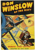 Golden Age (1938-1955):War, Don Winslow of the Navy #57 (Fawcett, 1948) Condition: FN/VF....