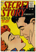 Golden Age (1938-1955):Romance, Secret Story Romances #18 (Atlas, 1955) Condition: VF....