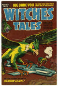 Golden Age (1938-1955):Horror, Witches Tales #28 File Copy (Harvey, 1954) Condition: VF....