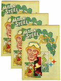 Bronze Age (1970-1979):Miscellaneous, Mark Steel Fights Pollution, Group of 15 (American Iron & SteelInstitute, 1972) Condition: Average VF-.... (Total: 15 Comic Books)