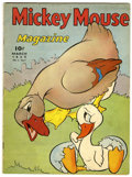 Golden Age (1938-1955):Cartoon Character, Mickey Mouse Magazine V4#7 (K. K. Publications, Inc., 1939)Condition: VG....