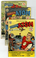Golden Age (1938-1955):Science Fiction, Captain Atom #5, 6 and 7 Group (Nationwide Publications, 1951)Condition: Average VG.... (Total: 3 Comic Books)