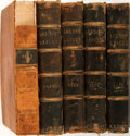Books:Medicine, [Bound Medical Journal]. The London Lancet. New York: William C. Herald, 1868-1885. Twenty-six quarto volumes in tot... (Total: 26 Items)
