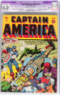 Golden Age (1938-1955):Superhero, Captain America Comics #3 (Timely, 1941) CGC Apparent FN 6.0 Moderate (P) Off-white to white pages....