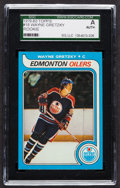 Hockey Cards:Singles (1970-Now), 1979 Topps Wayne Gretzky #18 SGC Authentic. ...