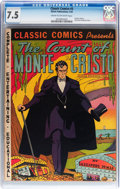 Golden Age (1938-1955):Classics Illustrated, Classic Comics #3 The Count of Monte Cristo - Original Edition(Gilberton, 1942) CGC VF- 7.5 Cream to off-white pages....