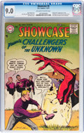 Silver Age (1956-1969):Superhero, Showcase #6 Challengers of the Unknown (DC, 1957) CGC VF/NM 9.0 Off-white to white pages....